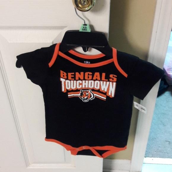 Baby bodysuit Newest fan Cincinnati Bengals football One Piece jersey